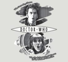The Doctor and Donna Noble (with DW Logo) by thegadzooks