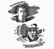 The Doctor and Donna Noble (without DW Logo) by thegadzooks