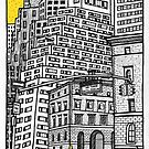 New York yellow taxi by Emma Bennett