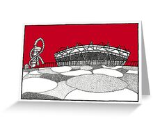 The Olympic Stadium Greeting Card