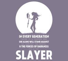 She Is The Slayer Kids Clothes