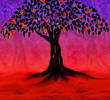 Tree of Life - Hearts (no text) by moonstreet