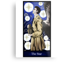 Castiel- The Star Metal Print