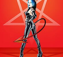 Ina Devil Girl by Brian Gibbs