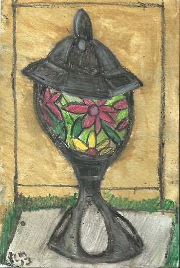 Stained Glass Lantern by RobynLee