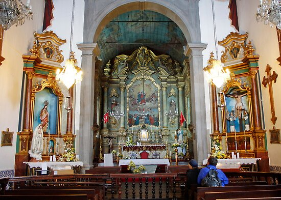 Church of Our Lady of Funchal by AnnDixon