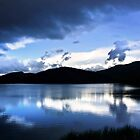 Cloud-break at Lake Tutira by SeeOneSoul