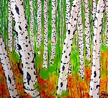 A Walk Through the Trees by Jackie Carpenter