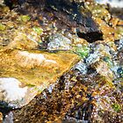 Nature colors and textures of rocks and water by Mario Cehulic