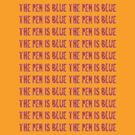 The Blue Pen by Alex Dermer