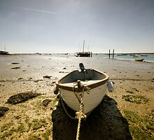 Waiting for the Tide by Nigel Bangert