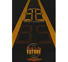 Back to the Future Photographic Print