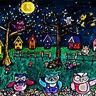 Hoooooo's There by Monica Engeler