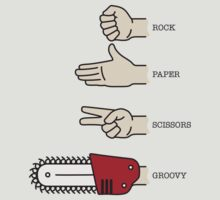 Rock, paper, scissors, GROOVY. by D4N13L
