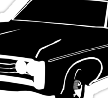 Impala - Nobody Gets Left Behind Sticker