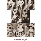 Pattie Boyd Vintage Makeup Tutorial by Kanagie