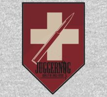 Juggernog logo; Bring it on, Ankle-biters! by Anders Andersen
