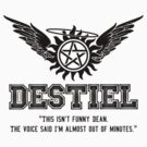 Destiel Quote Series - #27 by HarmonyByDesign