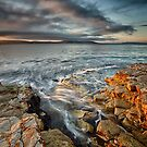Bellerive Bluff Sunrise #12 by Chris Cobern