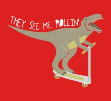 They See Me Rollin' - Dark shirt version Kids Clothes