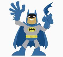 """Batsy Blue"" Sticker by DrWow"