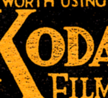 Kodak Sticker