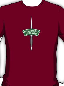 Royal Marines Commando Badge T-Shirt