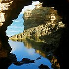 Window of the Grotto by hans p olsen