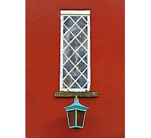Window and Lantern Photographic Print