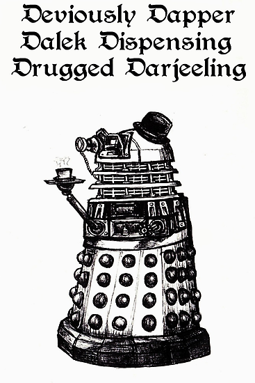 Dastardly Dalek T-shirts, Kids' Clothes, Prints, Cards, Stickers by gothscifigirl