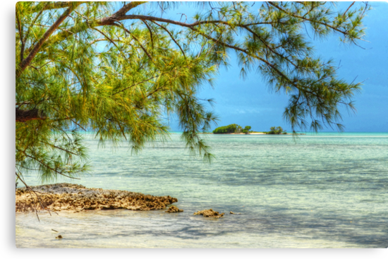 Paradise on Earth at Coral Harbour in Nassau, The Bahamas by 242Digital