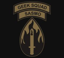 SASMO - Geek Squad - 63rd RSC by [original geek*] clothing