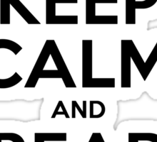 Keep Calm and Read Tintin Sticker