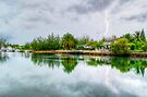 Lightning over the canal at Coral Harbour - Nassau, The Bahamas by Jeremy Lavender Photography