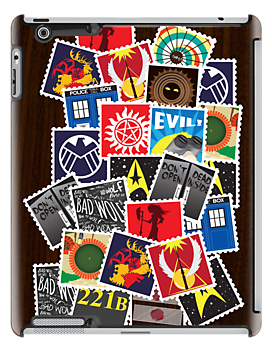 Nerd's Stamp Collection: Scattered by mcgani