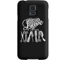 Love is in the Hair Samsung Galaxy Case/Skin