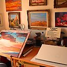 My studio by Beatrice Cloake