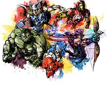 Avengers Color Bomb by stylishtech