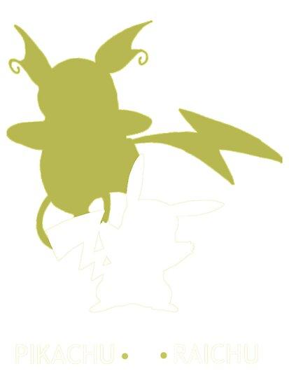 Pikachu Raichu by stylishtech