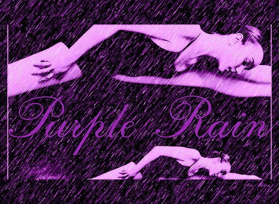 Purple rain by Alan Mattison