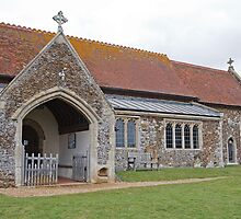 St Peter & St Paul West Newton Sandringham Norfork Uk by Keith Larby