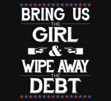 Bring Us The Girl And Wipe Away The Debt - white by Hitsville U.K.
