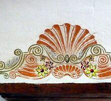 Transom decoration, San Xavier del Bac by nealbarnett
