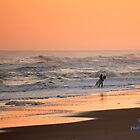 Evening Surf by Sandy Woolard