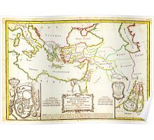 1771 Bonne Map of the New Testament Lands w Holy Land and Jerusalem Geographicus NewTestament bonne 1771 Poster