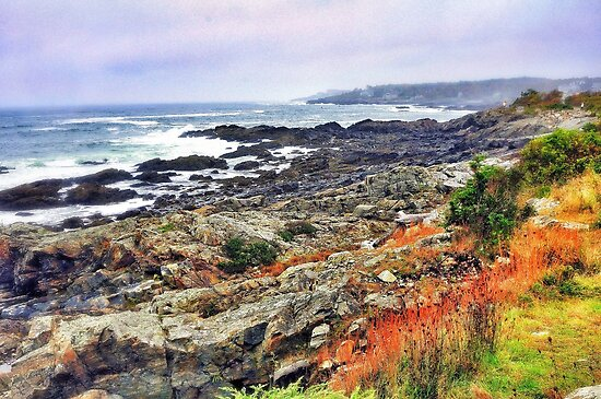 Marginal Way, Maine by fauselr