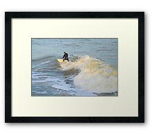 Surfer Dude Framed Print