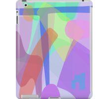 Blue T iPad Case/Skin
