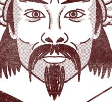 Bob Genghis Khan Sticker