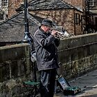 Durham Busking by Andrew Pounder